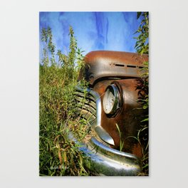 """""""Made in the USA"""" Canvas Print"""