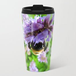 The Bee of Blue Fortune Travel Mug
