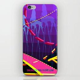 Salvador Dali x Dik Low (The Elephants) iPhone Skin