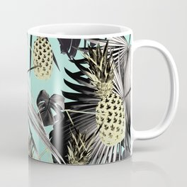 Tropical Pineapple Jungle Geo #5 #tropical #summer #decor #art #society6 Coffee Mug