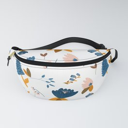 Blue #1 Fanny Pack