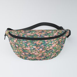 Romantic Roses Pattern — Peach • Coral Fanny Pack