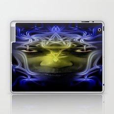 Electric portrait Laptop & iPad Skin