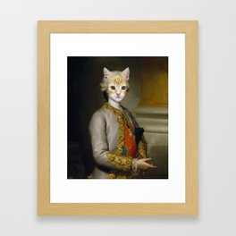 The Cat Duke Framed Art Print
