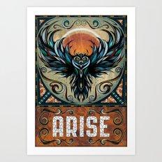 Arise Art Print