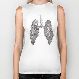 Lungs Biker Tank