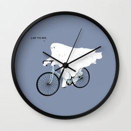 Negative Ghostrider. Wall Clock