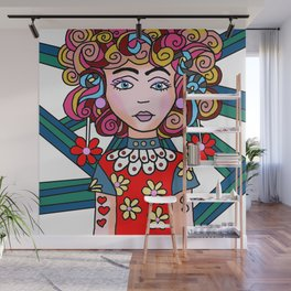 Style Girl - Ruby Wall Mural