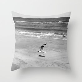 Across the Sands Throw Pillow