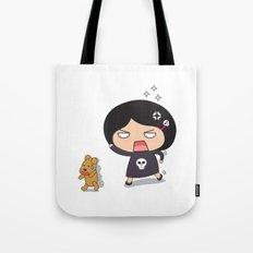 Run teddy, run! Tote Bag