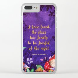I have loved the stars Clear iPhone Case
