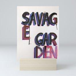 Savag Garden Mini Art Print