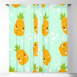 Cute Pineapples Blackout Curtain