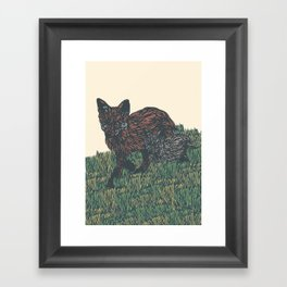 first steps into the new year Framed Art Print
