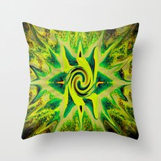 RASTA STAR Throw Pillow