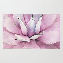 Pink Succulent Rug