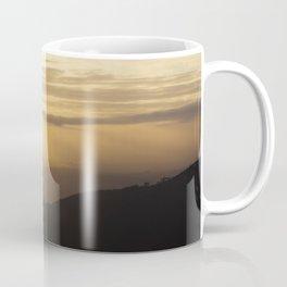 Sun in the mountains Coffee Mug