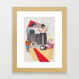 Yell out Framed Art Print