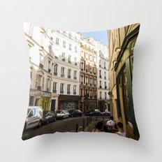 Montmartre series 4 Throw Pillow