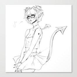 Dragon Song Canvas Print