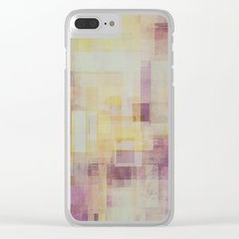 Abstract Geometry No. 24 Clear iPhone Case