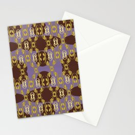 Gold Intricate Design  Stationery Cards