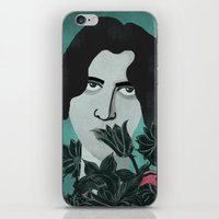 oscar wilde iPhone & iPod Skins featuring Oscar Wilde by Phantasmagoria