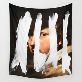 Untitled (Finger Paint 2) Wall Tapestry
