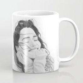 Smiling Emilia Clarke Coffee Mug