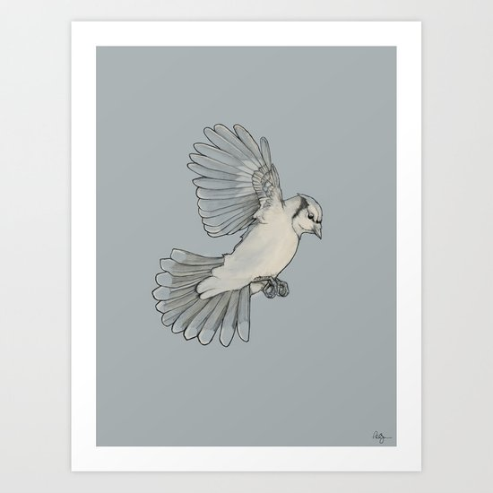 Dynamic Flight Art Print
