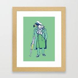 Game fowl Framed Art Print