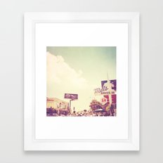 Ketchup. West Hollywood Los Angeles photograph Framed Art Print