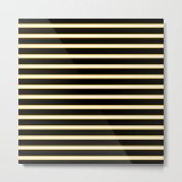 Eshe Stripes Metal Print