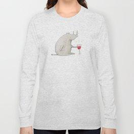 Wino Rhino Long Sleeve T-shirt