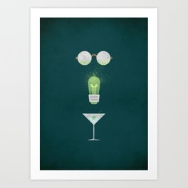 The Great Gatsby - NO TEXT Art Print