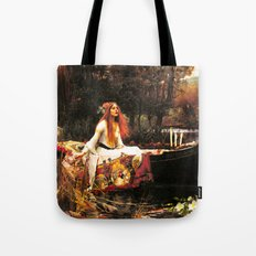 The Lady of Shalott Remastered Tote Bag