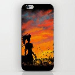Magical Sunset iPhone Skin