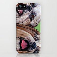 Shih Tzu Dog Art Slim Case iPhone (5, 5s)