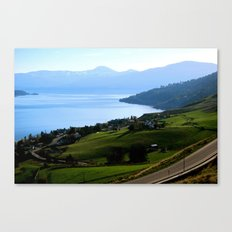 Lake Okanagan  Canvas Print