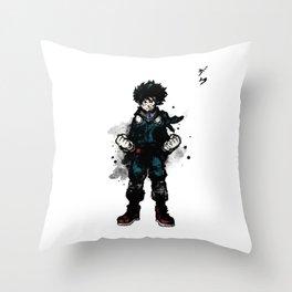Deku Ink Throw Pillow