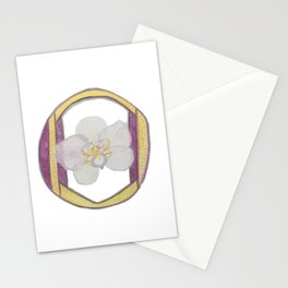 O is for Orchid Stationery Cards
