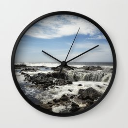 Thor's Well, No. 1 Wall Clock