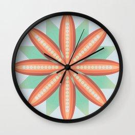 Pumpkin Palette Wall Clock