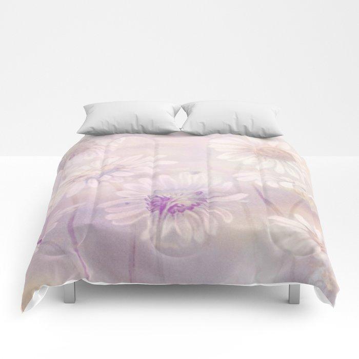 soft daisies Comforters