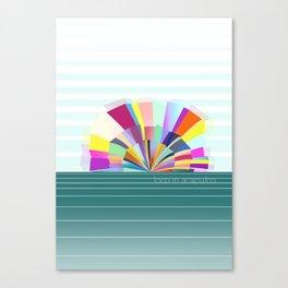 loco in acapulco Canvas Print