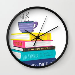 Lover of books Wall Clock
