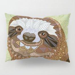 Smiling Sloth Pillow Sham