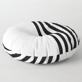MODERN (BLACK-WHITE) Floor Pillow