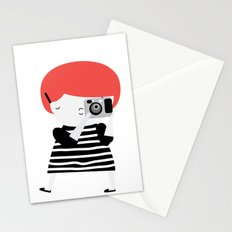 The ginger photographer Stationery Cards