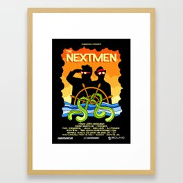 The Nextmen Set Sail For Penzance! Framed Art Print